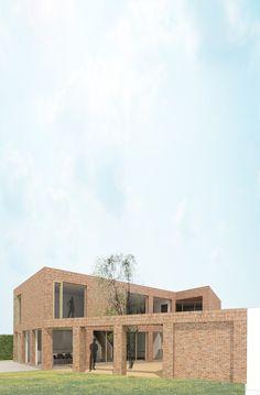 ééngezinswoningnieuwbouwwoning te Brecht2013-in uitvoering