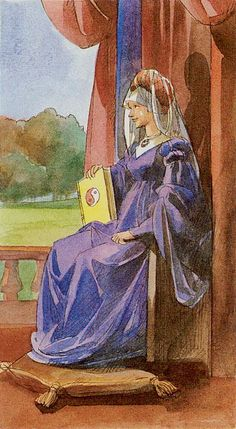The High Priestess - Tarot of the Renaissance