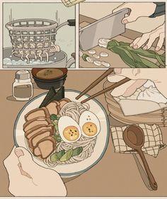 Cute Pastel Wallpaper, Anime Scenery Wallpaper, Cute Anime Wallpaper, Cute Cartoon Wallpapers, Japanese Aesthetic, Korean Aesthetic, Aesthetic Japan, Aesthetic Drawing, Aesthetic Art