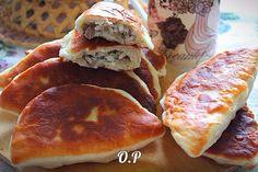 Жаренные пирожки с рисом и мясом