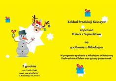 Spotkanie z Mikołajem (Gniew, 5.12.2016)  #gniew #opanujgniew #gminagniew #zakladprodukcjikruszyw #dzieci #mikołaj #święta #zabawa