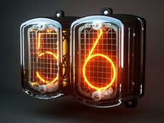 Dribbble - Nixie Tube Final by Keith Sereby