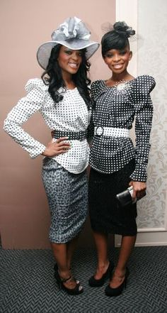 Hlelo & Ntando Masina. (Wednesday, 3 August 2011fashion, glitz and glam at the Durban July and after party)