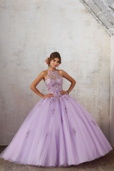 High Neck Floral Quinceanera Dress by Mori Lee Vizcaya 89134 Mori Lee Quinceanera Dresses, Bahama Blue, Looking Gorgeous, A Line Skirts, Flare Dress, Corset, Ball Gowns, Fashion Dresses, Tulle