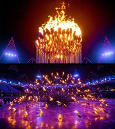 Thomas Heatherwick § 2012 Olympic Torch in London Fantastic design