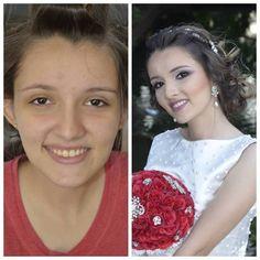 Antes e depois da minha querida isabelle #universomakeup #universodamaquiagem_official #mundodamaquiagem_oficial by bibiane_vasconcelos http://ift.tt/1NMCl2p
