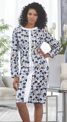5128b37b2e5c 61 Best Perfectly Suited images | Skirt suit set, Your style ...