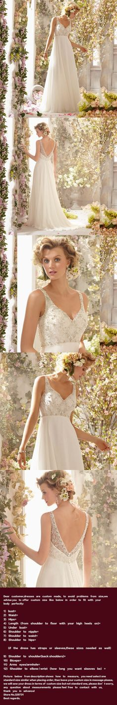 Custom Made Maternity Bridal Gowns Plus Size Luxury Beaded Crystals Chiffon Beach Wedding Dresses 2016 For Pregnant Women