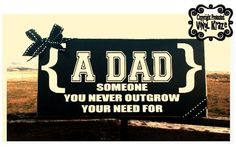 Vinyl Dad Plaque by VinylKraz on Etsy, $10.00