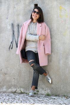 I love Fita Métrica: Pink&Grey