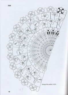 pergamano - Page 4 Blank Coloring Pages, Flower Coloring Pages, Coloring Sheets, Coloring Books, Hand Embroidery Stitches, Embroidery Patterns, Parchment Design, Photo Collage Maker, Asian Cards