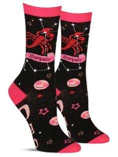7e2105ef6 Scorpio Socks  scorpio  zodiac  horoscope  astrology  funsocks