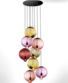DR LIGHT FIXTURE, BUT IN DIFFERENT COLOURS - Tendance suspensions bulles