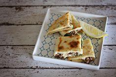 Lamb, spinach & feta gozlemes | fatmumslim.com.au