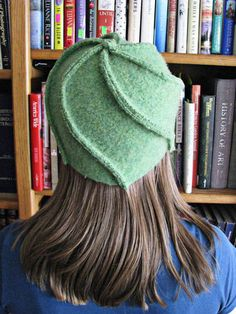 Whirling Hat - with link to a free pattern