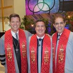 L Bobby Schuller, Chad Blake and Russ Jacobson Ordination and Installation Service at Shepherd's Grove