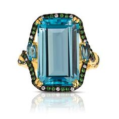 Shop online Marco Moore RSB-10409 Yellow Gold GEMSTONE Rings  at Arthur's Jewelers. Free Shipping