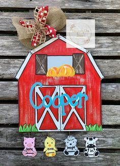 Excited to share this item from my shop: Farm Animal Door Hanger, Barn Door Hanger, Door Hanger, Nursery Door Hanger, Hospital Door Hanger Letter Door Hangers, Door Letters, Baby Door Hangers, Wooden Door Hangers, Farm Animal Nursery, Farm Nursery, Farm Door, Door Hanger Template, Hospital Door Hangers