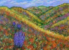 "Saatchi Art Artist Kathy Symonds; Painting, ""Dreaming of Spring, floral art…"