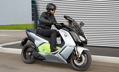 motorscycle.com  » 2017 BMW C Evolution Scooter Coming To US