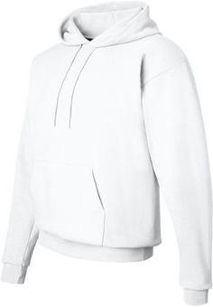 Hanes EcoSmart Pullover Hooded Sweatshirt, White L, Adult Unisex, Size: Large