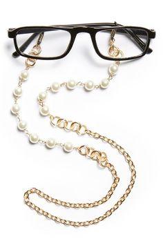 Sunglasses for Women Bead Jewellery, Beaded Jewelry, Beaded Bracelets, Eyeglass Holder, Womens Glasses, Bunt, Eyeglasses, Jewelry Making, Women Jewelry