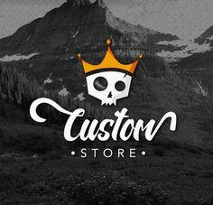 110e4203d Logomarca desenvolvida para loja de roupas masculinas online. #logomarca  #design #brand #logo #logotype