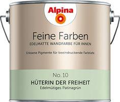 Bestellen Sie kostenlos Farb-Muster von Alpina Feine Farben und testen Sie die Wirkung der Farbtöne in Ihrem Zuhause.