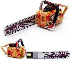 Chain Saw USB Flash Drive