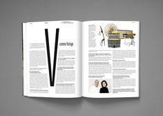 DADI magazine by Nicolas Zentner, via Behance