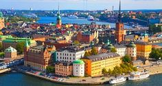 Stockholm is so colorful. Need to go!