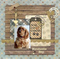 Handsome Boy - Scrapbook.com