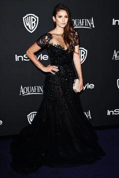 InStyle and Warner Bros Golden Globes After Party- Nina Dobrev 😍