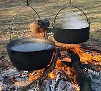 Dutch Oven University - The only site you will need to have fantastic food while you camp or for power outages, etc.  Just a whole lotta fun! - rugged-life.com