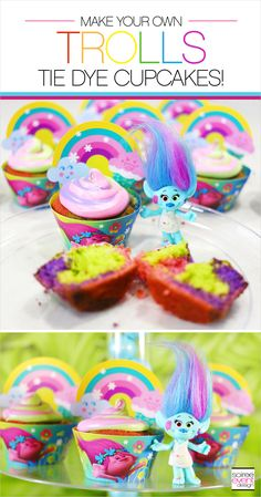 | TREND ALERT – Host a Trolls Party with these Trolls Party Ideas! | http://soiree-eventdesign.com (Trolls Cake Diy)