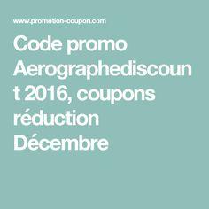 Code promo Aerographediscount 2016, coupons réduction Décembre