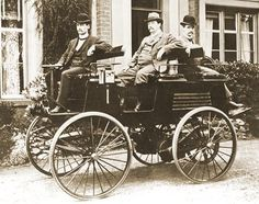 World's first electric car built by Thoma Parker in 1884.