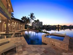 Luxury estate for sale on Hurricane Habour | the Moorings | Naples, Florida