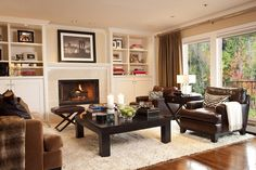 Do not like.... example: Classic-Shade-Family-Room-with-Fireplace.jpg 856×570 pixels