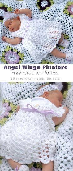 Crochet Baby Dress Free Pattern, Baby Girl Crochet Blanket, Crochet Bebe, Free Crochet, Knitted Baby, Easy Crochet, Crochet Baby Costumes, Crochet Baby Clothes, Crochet Baby Dresses