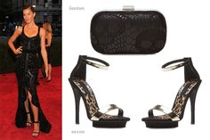 What's sexier than a sexy Victoria Secret super model in a David Yurman gown? Nothing! This is classic done right! Looking like a true Hollywood glam-o, Gisele Bundchen goes classic black from head to toe. Get ShoeDazzle glammed here: http://www.shoedazzle.com/fan/products/lawton  http://www.shoedazzle.com/fan/products/SAXON-1.