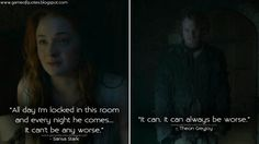 [Everything] Theon summing up the entire series in two sentences