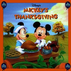 Disney's Mickey's Thanksgiving by Mouse Works, Fun Works Disney Thanksgiving, Disney Christmas, Disney Holidays, Thanksgiving Humor, Thanksgiving Pictures, Mickey Mouse And Friends, Mickey Minnie Mouse, Disney Music, Disney Fun