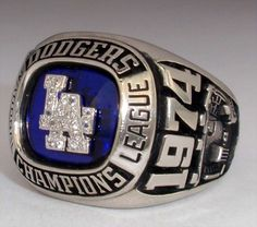 """los angeles dodgers championship rings 