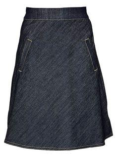 STELLY - A-linjainen hame - dark indigo - Zalando. 302df8be21