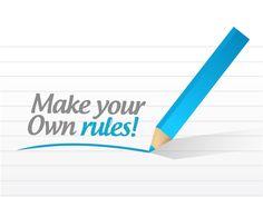 Own Rules Manifesto