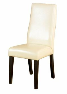 Armen Living 341 Cream Leather Side Chair, Set of 2 by Armen Living. Save 52 Off!. $207.24. Smooth cream leather with lombard support back. Measures 18-inch wide by 16-inch deep by 38-inch high. Side chair from the 341 series. Comes with standard 1-year limited warranty. California fire retardant (cfr) rated. Smooth cream leather dining chair with a tremendous Lombard support back. Pirelli webbing and California Fire Retardant rated. Legacy Holdings is the quintessential mod...