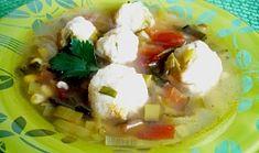 Pórková polévka s tofu knedlíčky Tofu, Potato Salad, Potatoes, Ethnic Recipes, Potato