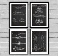 Batman Patents, Original Batman, Batman Patent Prints Set Of 4, Batmobile, Batwing, Batman Mask, Original Batmobile - Batman Posters by STANLEYprintHOUSE  10.00 USD  We use only top quality archival inks and heavyweight matte fine art papers and high end printers to produce a stunning quality print that's made to last.  Any of these posters will make a great affordable gift, or tie any room together.  Please choose between different sizes and co ..  https://www.etsy.com/ca/listing/..