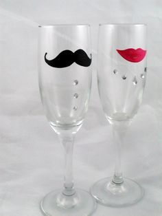 moustaches and lips wedding | ... Kaori Glass check out all the other items with mustaches and lips